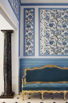Stunning Château Gütsch designed by Martyn Lawrence Bullard.