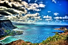 Windward View of Oahu in HDR