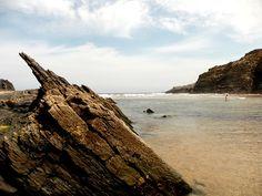 Praia Do Carvalhal / Portugal Sandy Beaches, Portuguese, Places To Travel, Sea, Explore, Water, Outdoor, Naturaleza, Scenery