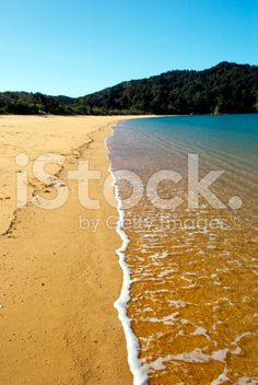 Totaranui Seascape, Abel Tasman National Park, New Zealand royalty-free stock photo Deep Photos, Abel Tasman National Park, New Zealand Beach, South Island, Beach Fun, Image Now, Beautiful Beaches, National Parks, Scenery