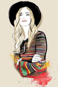 Mônica Ruf é uma designer e ilustradora de modado interior de São Paulo. Depois de formada, ela foi para Milão fazer mestrado e acabou ficando por lá para trabalhar. Mônica faz alguns trabalhos para marcas italianas e suas ilustras já apareceram até na Vogue! Seus desenhos são graciosos e femininos. Ela ilustra principalmente retratos de famosas do mundo fashion, como modelos e blogueiras. Seu traço é bem bonito, ela não...