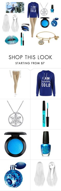 """""""Mrs. Frost"""" by andrejafrukacz on Polyvore featuring moda, Current/Elliott, Amanda Rose Collection, Milani, MAC Cosmetics, OPI i Thierry Mugler"""