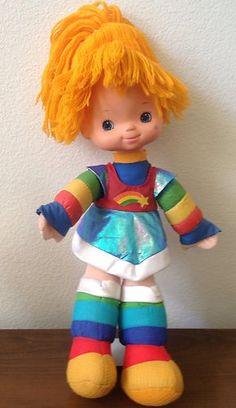 1983 Original Mattel Rainbow Brite Doll. She was a present when I was in hospital 1984. I have now bought one from a car boot sale for my DD
