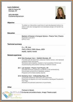 Choosing The Right Resume Format Is Critical To Presenting Your
