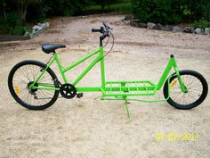 cargo bike DIY - Hledat Googlem