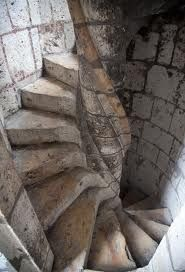 Chartres cathedral tower stairs  Medieval