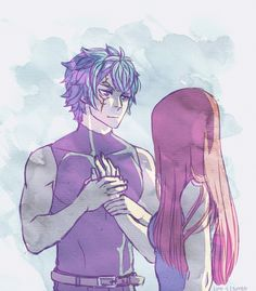 Jerza. :> i like how with jerza, the most simple gestures are the most cherished