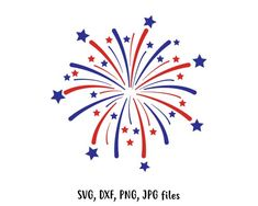 Fireworks SVG Independence day svg Fireworks Cut File Fireworks design of July svg Stars svg file Cricut & Silhouette Cut file Fourth Of July Crafts For Kids, 4th Of July Party, How To Draw Fireworks, Fireworks Video, Fireworks Design, Diy Calendar, Ecole Art, Tatoo, 4th Of July