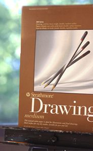 Drawing Paper - Learn the three important things to consider when choosing drawing paper, and choose the paper best suited for your drawing!