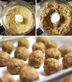 These Date Energy Balls are a quick and easy treat, perfect for snacking! This recipe is dairy-free with no sugar added and also paleo and vegan friendly.