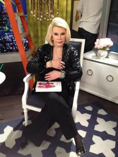 DRESS: Joan Rivers Classics Collection  BLAZER: Valentino  JEWELRY: MCL and Carrera Y Carrera