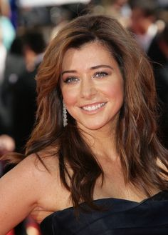I love the dark as a low light....Alyson Hannigan