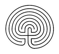 Meditando com a gurizada: Meditação com labirinto
