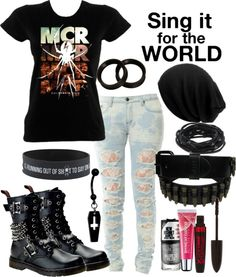 """""""Would You Destroy Something Perfect To Make It Beautiful?"""" by batmanjayy ❤ liked on Polyvore"""