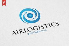 Air Logistics Logo by Airport Logo, Logistics Logo, Earth Logo, Sun Logo, Logo Design, Graphic Design, Modern Logo, Logo Inspiration, Logo Branding