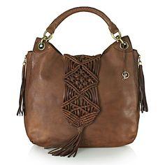 Dani Samaniego leather handbag