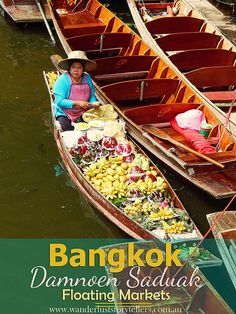 An amazing Bangkok Day Tour to visit Damnoen Saduak Floating Markets & River Kwai. Read more on Thailand on our blog http://wanderluststorytellers.com.au