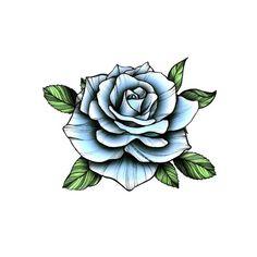 Blue Vintage Rose - Temporary Tattoo / Rose Tattoo/ Bluer Rose Flower/ Blue Rose Tattoo/ Floral Tattoo/ Flower Tattoo /Rose Temporary Tattoo - Blue Vintage Rose – Temporary Tattoo / Rose Tattoo/ Bluer Rose Flower/ Blue Rose Tattoo/ Floral T - Rose Drawing Tattoo, Tattoo Sketches, Tattoo Drawings, Rose Tattoo Stencil, Realistic Flower Tattoo, Realistic Temporary Tattoos, Blue Rose Tattoos, Flower Tattoos, Tattoo Floral