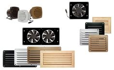 Cool Components: Cooling & Ventilation Products For Audio Video Systems Including Home Theater Amplifiers, Receivers, Home Theater, Entertainment Centers and Cabinets