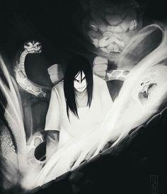 Orochimaru,and dis snakes Boruto, Naruto Shippuden, Madara Uchiha, Kakashi Hatake, Naruto Art, Naruto And Sasuke, Anime Naruto, Anime Villians, Anime Characters