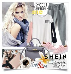 """SHEIN II/5"" by creativity30 ❤ liked on Polyvore featuring shein"