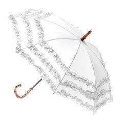 Fifi Bambino Children's Umbrella - White - Brolliesgalore