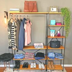 Small Space Living, Small Spaces, Mini Boutique, Casa Real, Better Together, New Room, Wardrobe Rack, Sweet Home, New Homes