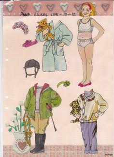Allers 1990 - | Maggans nostalgiska klippdockor