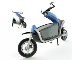 EQUS is an electric cargo motorcycle that allows you to bring along a variety of goods on your commute, while running errands or when you're out for a leisurely ride. Its minimal yet robust frame is designed around a convenient cargo area found between the rider's seat and the front fork. This purposeful placement provides a lower center of gravity and greater overall stability to the design. Jump to the vid! Designers: Alejandra Hanashiro, Paula Cossarini, Mariano Pellegrino y Juan Ortiz…