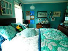 The reNOUNed Nest: An Ocean Minded Teen-Girl Bedroom