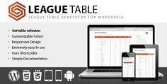 League Table v1.12 - https://codeholder.net/item/wordpress/league-table