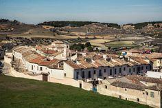 La imagen de nuestro fin de semana. Vista de los campos y zona del Convento de las MM. Clarisas desde el Carril. #DescubreChinchón