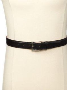 53% OFF Trafalgar Men's Two-Tone Belt (Black)