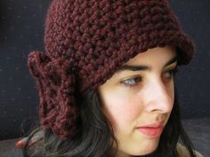 Cloche Rouge // Free Crochet Pattern by Melmaria Designs