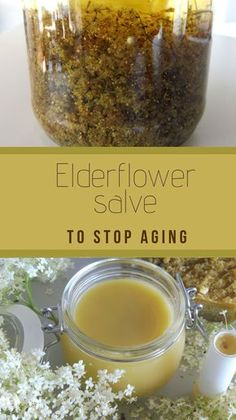 Remedies Elderflowers are known for its softening, anti-inflammatory, and anti-wrinkle properties. When combined with Frankincense essential oil that has very positive effect on older skin and prevents signs of aging they make ideal salve for mature skin. Natural Health Remedies, Herbal Remedies, Cold Remedies, Home Remedies For Skin, Bloating Remedies, Acne Remedies, Natural Medicine, Herbal Medicine, Anti Aging Skin Care