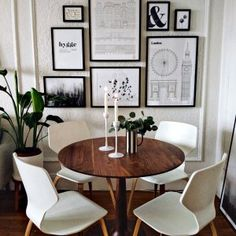 Pike Chairs with Wood Seat - Modern Dining Chairs - Modern Dining Room & Kitchen Furniture - Room & Board Modern Dining Chairs, Dining Table In Kitchen, Room Kitchen, Mid Century Modern Dining Room, Small Dining Area, Small Dining Room Tables, Small Living Dining, Dining Room Wall Decor, Dining Room Design