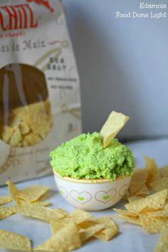 I loved this guacamole.  Edamole - Edamame Guacamole Low Calorie Low Fat Dip
