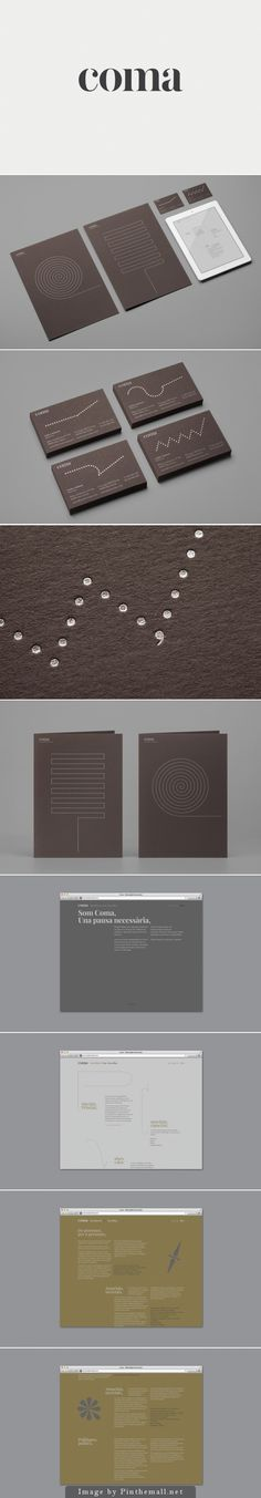 Coma - Designing Brand Identity