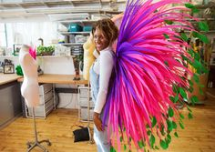 Everything I Learned from Trying on Victoria's Secret Angel Wings from InStyle.com