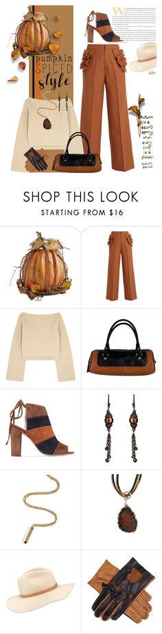 """Pumpkin Spiced: Lattes, Pies, Breads, Muffins, Cookies !! Oh My !!"" by kateo ❤ liked on Polyvore featuring Muveil, Khaite, Kate Spade, 8, Avindy, Aesa, rag & bone, Black and 6868"