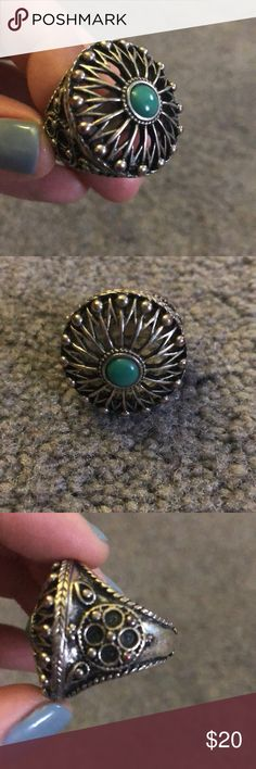 Lucky Brand Ring Lucky Brand ring!! Boho style and super cute. Lucky Brand Jewelry Rings