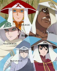 The 5 Kage in Boruto Naruto next generation - Episode 24 Anime Naruto, Naruto Shippuden Sasuke, Naruto Fan Art, Naruto Cute, Naruto Sasuke Sakura, Kakashi, Naruto Mignon, Arte Ninja, Naruto Teams