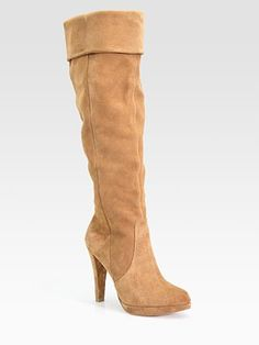 Slouch Knee-High Boots