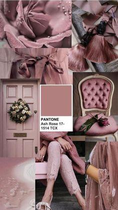 pantone ash rose colors spring 2018 inspiration fashion style detail moodboard c. Color Schemes Colour Palettes, Color Trends, Color Combinations, Palette Pantone, Pantone Color, Sico, Soft Summer Color Palette, Spring Colors, Merian