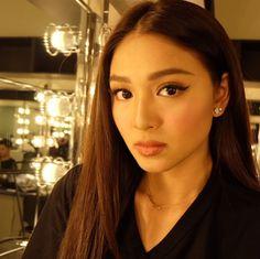 Nadine Lustre (ctto) Nadine Lustre Makeup, Filipina Actress, James Reid, Jadine, Interesting Faces, Celebs, Celebrities, Pinoy, Best Actress