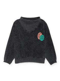 Happy Sad rib collar sweatshirt by Bobo Choses. From The Happy Sads collection by Bobo Choses. We love this cool sweatshirt by Bobo Choses. Fashion Kids, Cute Outfits For Kids, Cute Kids, Collared Sweatshirt, Kids Wear, My Girl, Organic Cotton, Boutique, Sweatshirts