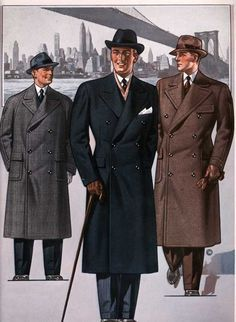 1930s Men Clothing <b>1930s mens fashion</b> plate. do not underestimate the power of ...