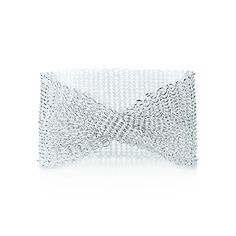 Tiffany & Co. | Item | Elsa Peretti® Mesh wide bracelet in sterling silver, small. | United States