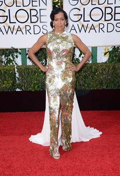 Regina King au Golden Globes 2016