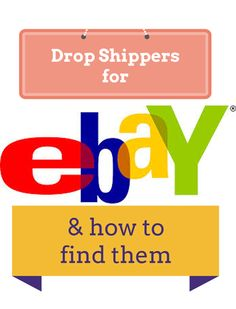 Dropshippers for ebay and where to look